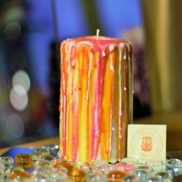 candele intagliate