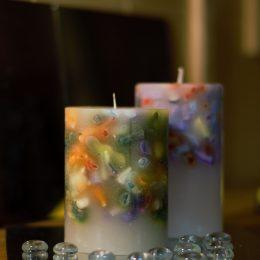 Cilindri multicolor